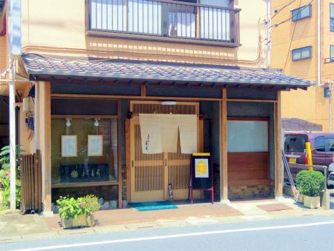 埼玉県越谷市袋山にある寿司店「よし寿司」外観