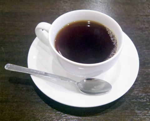 東京都江戸川区南篠崎町3丁目にある中華料理「木蓮」サービスのホットコーヒー
