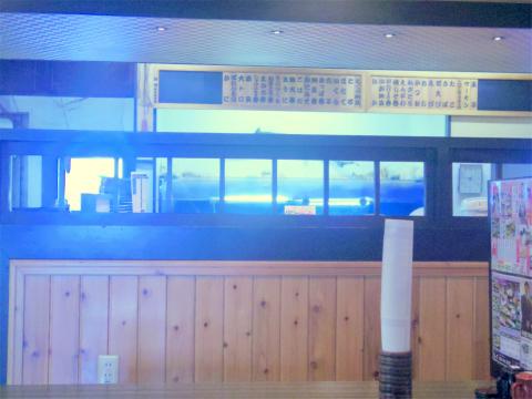 茨城県稲敷市西代にある寿司店「まいど」店内
