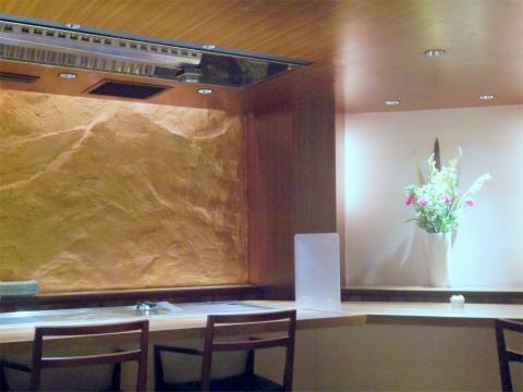神奈川県横浜市中区相生町3丁目にある鉄板焼き・ステーキの「知㐂多亭(知喜多亭) 和 横浜・関内店」店内