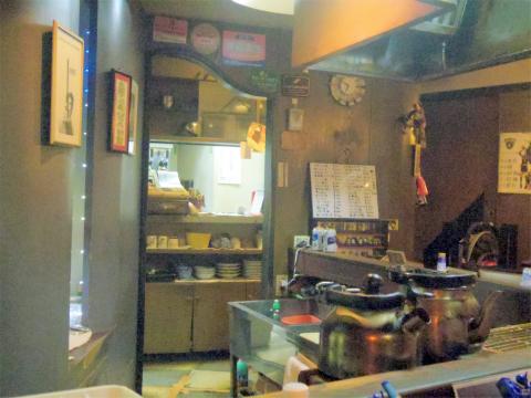 神奈川県中区本牧三之谷にあるバー、レストラン「本牧霧亭」店内