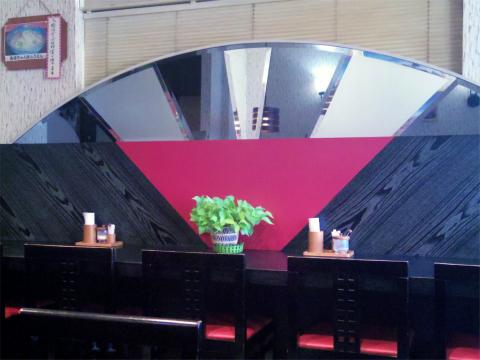 神奈川県川崎市中原区木月3丁目にある喫茶店「和風喫茶 嵯峨野」店内