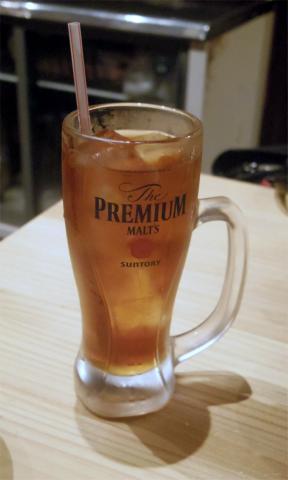 東京都立川市曙町2丁目にある居酒屋 「居酒屋行くなら俺んち来い。立川店」ウーロン茶