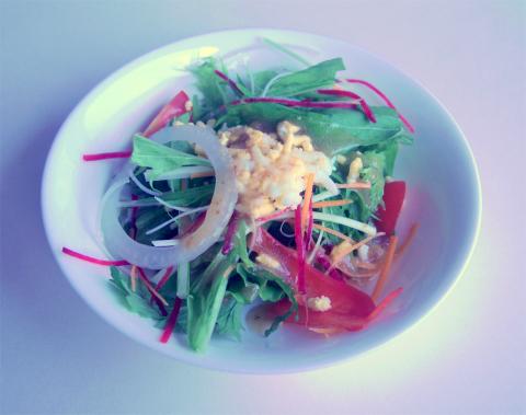 神奈川県横浜市中区根岸旭台にある「カフェ&レストラン ドルフィン cafe&restaurant dolphin」Bランチ