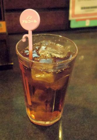 東京都新宿区歌舞伎町1丁目にある居酒屋「養老乃瀧 歌舞伎町店」ウーロン茶