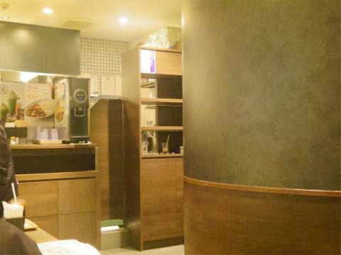 千葉県松戸市松戸にあるカフェ「ベックスコーヒーショップ BECK'S COFFEE SHOP  松戸店」店内
