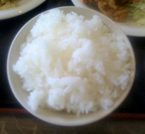 埼玉県越谷市小曽川にある中華料理店「金再来」よくばり定食