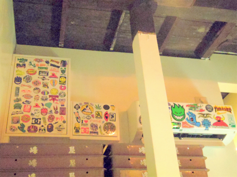 神奈川県川崎市中原区木月1丁目にあるハンバーガーショップ「JAPPS BURGER ジャップスバーガー」店内