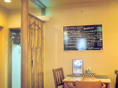 埼玉県狭山市水野にあるイタリア料理のお店「カフェ&ダイニング デルフィーノ Delfino 入曽店」店内