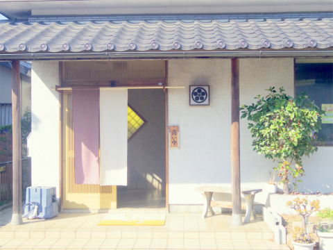 埼玉県春日部市増富にある会席、会席料理、割烹、小料理の「季節料理 松」外観