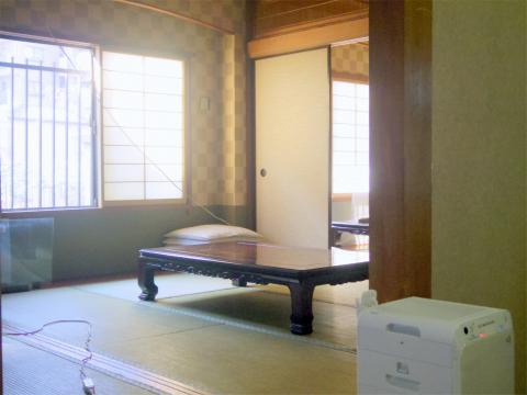 埼玉県春日部市増富にある会席、会席料理、割烹、小料理の「季節料理 松」店内