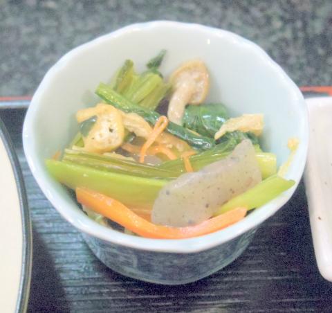 埼玉県春日部市増富にある会席、会席料理、割烹、小料理の「季節料理 松」鶏の唐揚げ定食