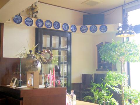 茨城県常総市水海道森下町にある「かうひいや珈和」店内