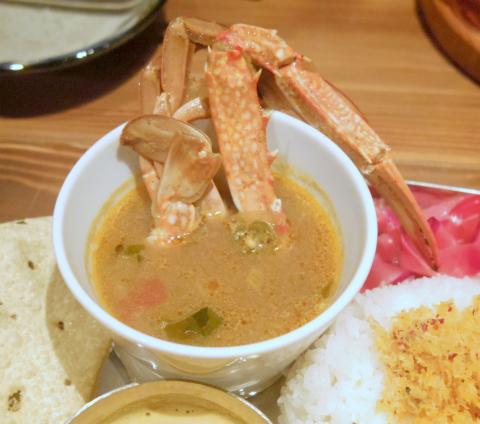 東京都杉並区高円寺南4丁目にあるスリランカ料理の「ピピネラ pipinella」本日のカレー