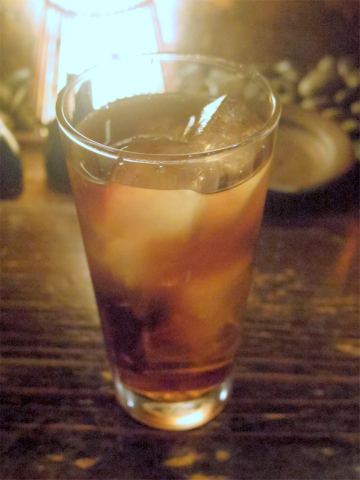 神奈川県川崎市中原区木月3丁目にある焼鳥、鶏料理の「浪漫亭 元住吉店」ウーロン茶