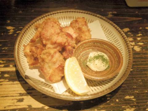 神奈川県川崎市中原区木月3丁目にある焼鳥、鶏料理の「浪漫亭 元住吉店」鶏のからあげ