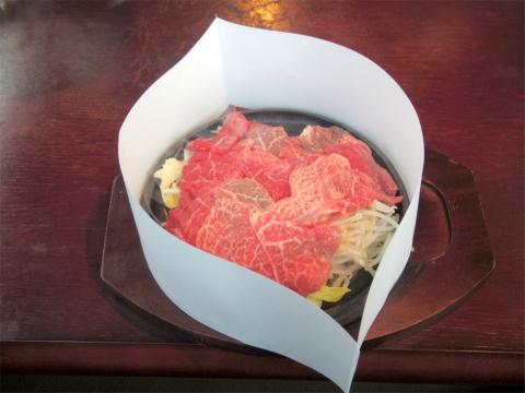 埼玉県所沢市和ケ原2丁目にある焼肉店「肉匠みきすけ」ロース系200g