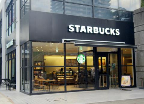 東京都練馬区光が丘5丁目にあるカフェ「スターバックスコーヒー Starbucks Coffee 光が丘IMA店」外観