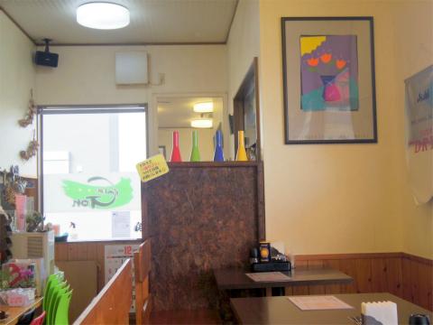 茨城県取手市藤代南1丁目にある洋食店「キッチンゴン Kitchen Gon」店内