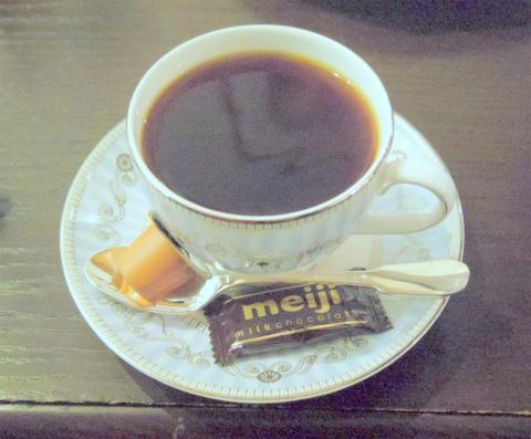 神奈川県横浜市中区本牧原にあるコーヒー専門店、喫茶店の「焙煎工房フィガロ FIGARO」スペシャル・コーヒー(モカ・マタリ)