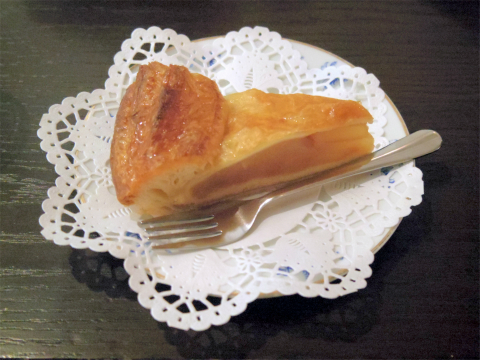 神奈川県横浜市中区本牧原にあるコーヒー専門店、喫茶店の「焙煎工房フィガロ FIGARO」アップルパイ