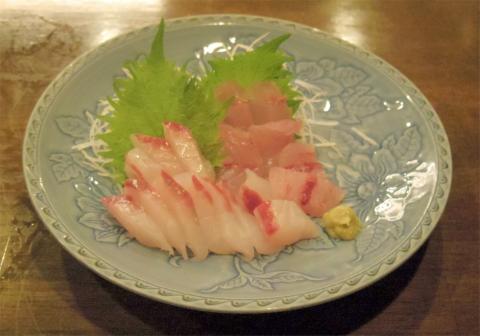 神奈川県川崎市中原区木月1丁目にある割烹、小料理の「和食 蓬や」むつ、目鯛刺盛り