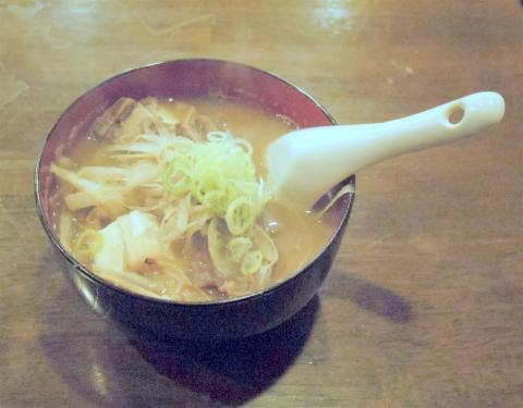 神奈川県川崎市中原区木月1丁目にある割烹、小料理の「和食 蓬や」牛すじ豆腐牛蒡煮込み