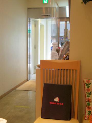 神奈川県横浜市中区山下町にある中華粥専門店「謝甜記 貮号店」店内