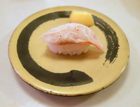 神奈川県横浜市中区本牧原にある回転寿司店「はま寿司 ベイタウン本牧店」炙り金目鯛