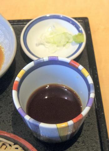 東京都足立区鹿浜5丁目にある蕎麦店「海鮮と地鶏・そば 大谷」牛カツ定食