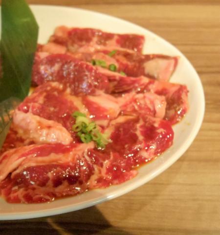 神奈川県横浜市中区本牧原にある焼肉店「熱烈カルビ 本牧店」ミックス焼肉ランチ