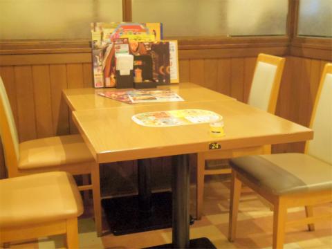 神奈川県横浜市港北区新羽にあるファミリーレストラン「ココス COCO'S 港北新羽駅前店」店内