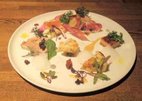 埼玉県越谷市千間台東1丁目にある鉄板ビストロの「la planche ラ・プランシュ」前菜