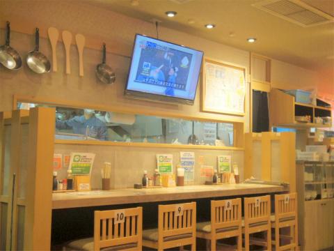 茨城県土浦市大和町にある居酒屋「大衆食堂 安べゑ 土浦駅前店」店内