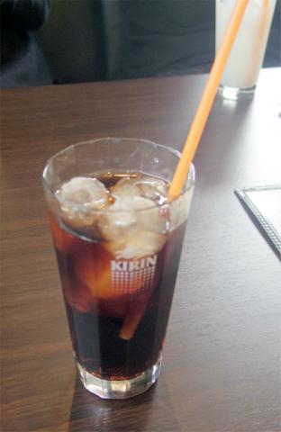 埼玉県越谷市千間台東1丁目にあるカレー専門店「KAKURENBO カクレンボ」セットのアイスコーヒー