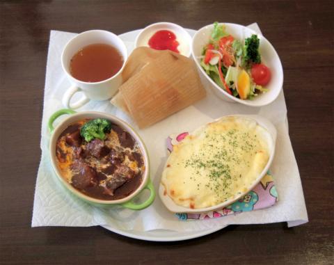 埼玉県狭山市入間川にあるカフェ「Dining Cafe MALIBU ダイニングカフェ マリブ」マリブランチ