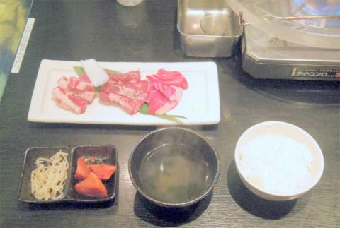 埼玉県越谷市千間台西1丁目にある韓国料理、焼肉の「韓国水晶焼肉 チョアヨ」水晶焼肉・牛ランチ