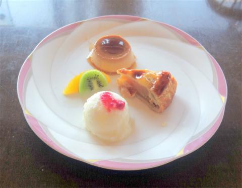 茨城県笠間市笠間にあるイタリアン、フレンチのお店「Cerchio 欧風料理 チェルキオ」ミラノコースのデザート