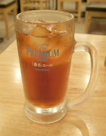 東京都練馬区豊玉北5丁目にある「大衆焼肉ホルモン もつりき 練馬店」ウーロン茶