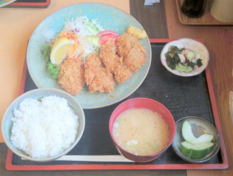 茨城県石岡市高浜にあるとんかつ専門店「とんかめ 高浜店」ひれかつ定食