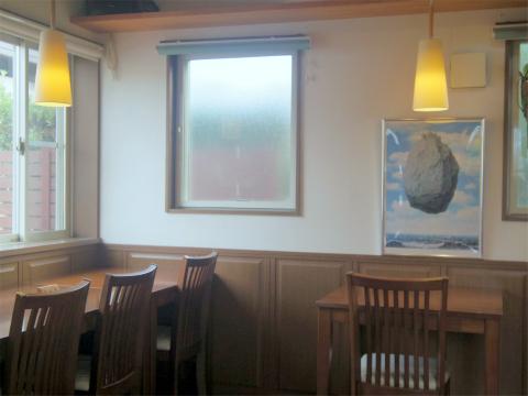 茨城県取手市桜が丘1丁目にある 「cafe botchi★ カフェ ボッチ」店内