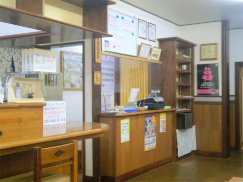千葉県香取市にある洋食店「御食事処 東洋軒」店内