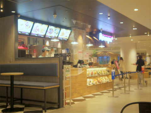 東京都練馬区光が丘5丁目にあるパンケーキ専門店「Hawaiian Pancake & Cafe Merengue ハワイアン パンケーキ&カフェ メレンゲ 光が丘IMA店」外観