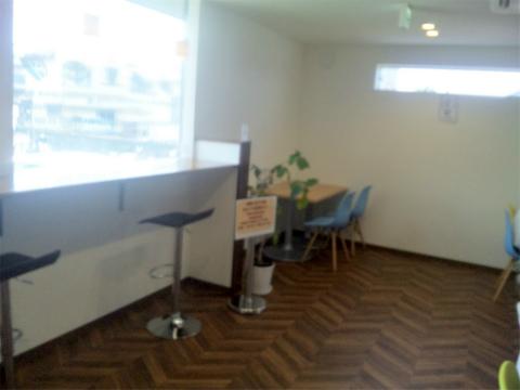 埼玉県越谷市平方にある「Bon Bon Terrasse Sandwitch&Cafe ボン ボン テラス サンドウィッチ&カフェ」店内