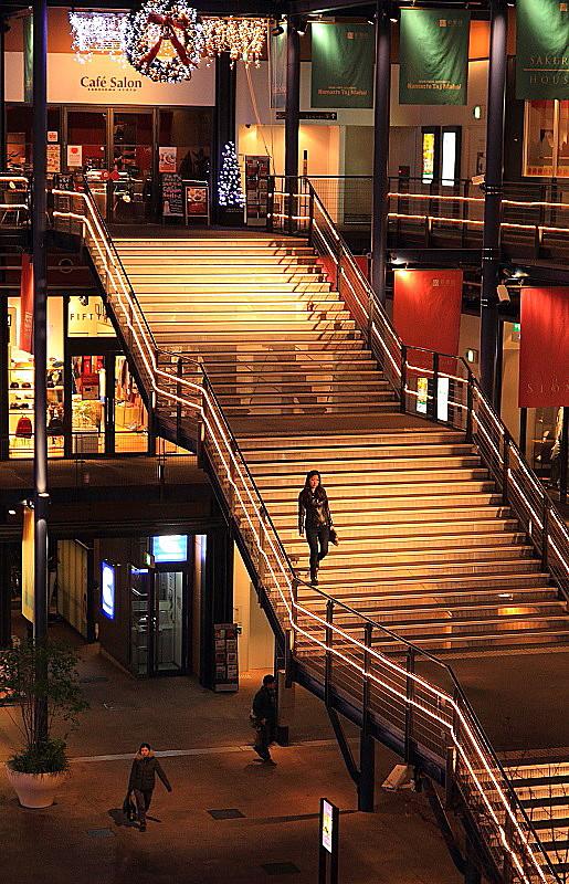 京都新聞写真コンテスト 「聖夜の階段」