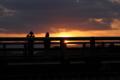 京都新聞写真コンテスト「夜明けの渡月橋」