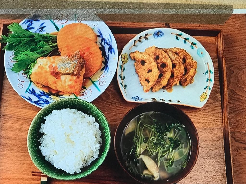 【ピリ辛ぶり大根】【れんこんの津軽揚げ】【豆苗としいたけのスープ】レシピ