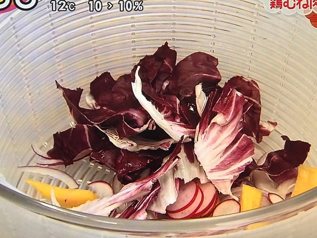 ●野菜の水気を十分に切ることで パリッとした食感になる