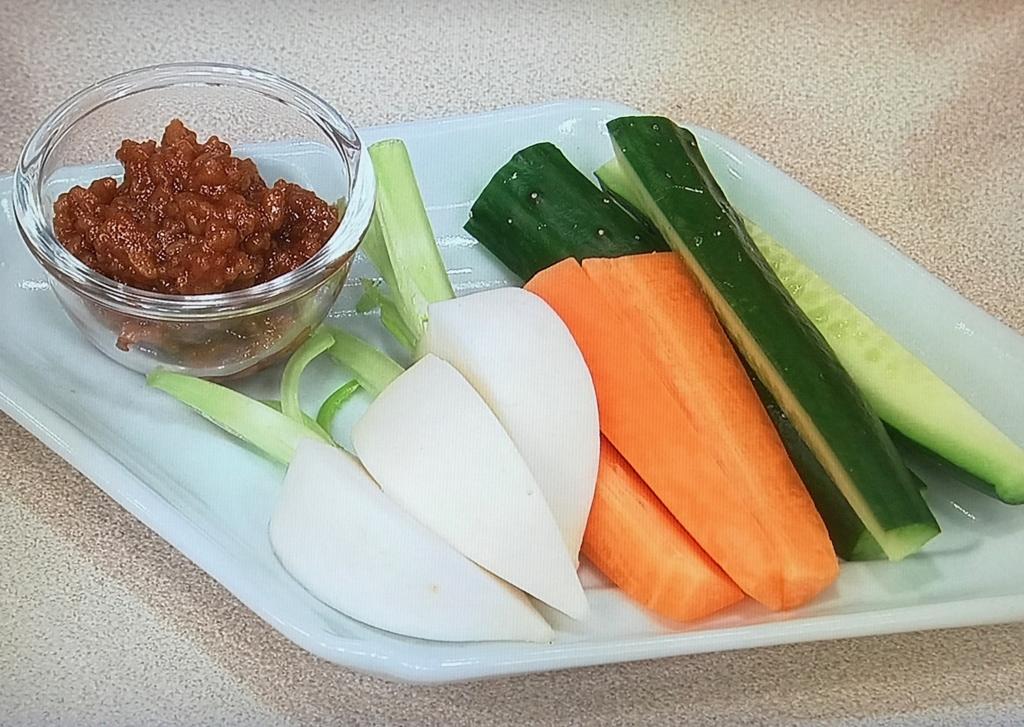 野菜や豆腐に添えても