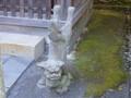 長崎市・祓戸神社の狛犬(右)